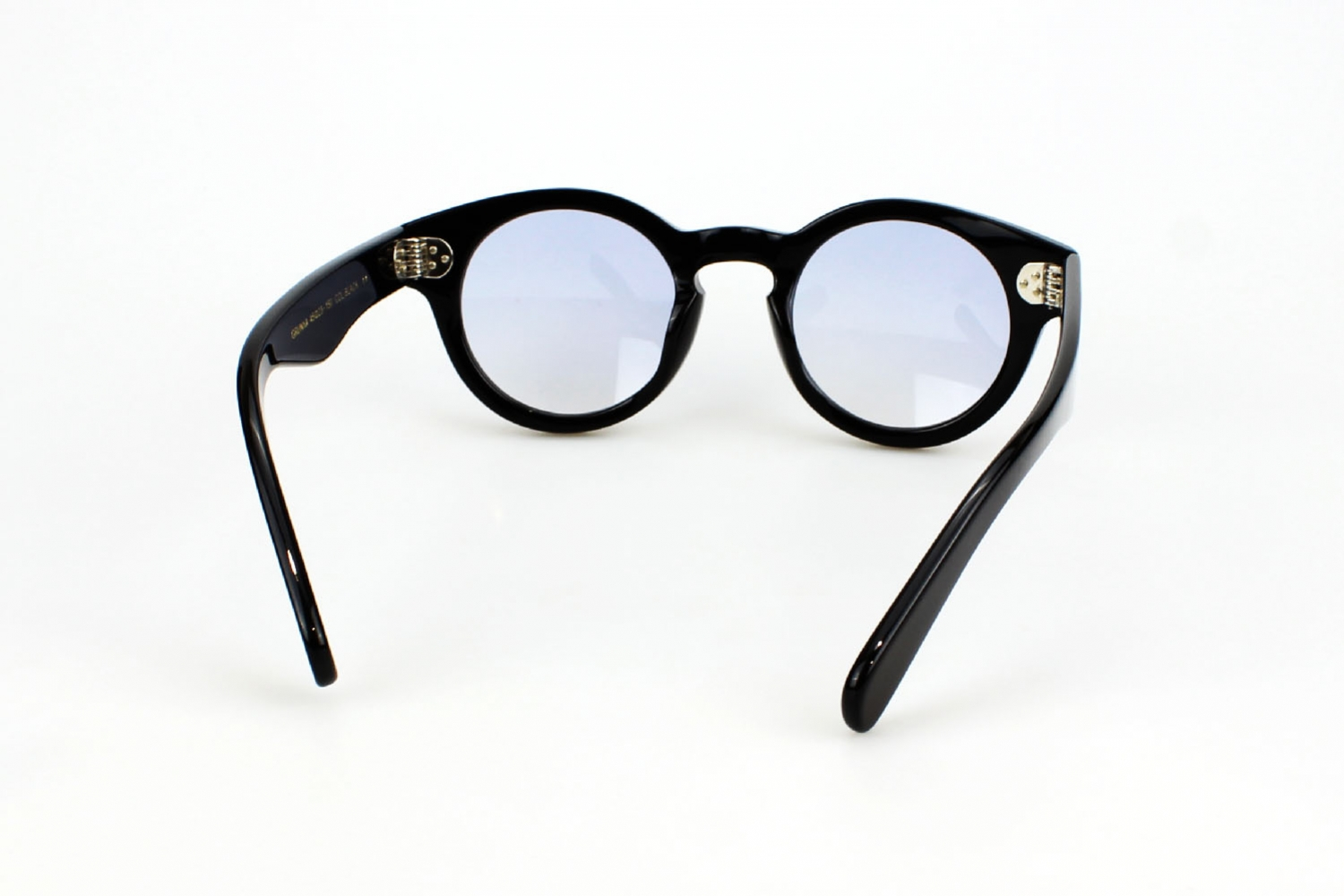 Moscot Grunya 45 Black Custom Tints