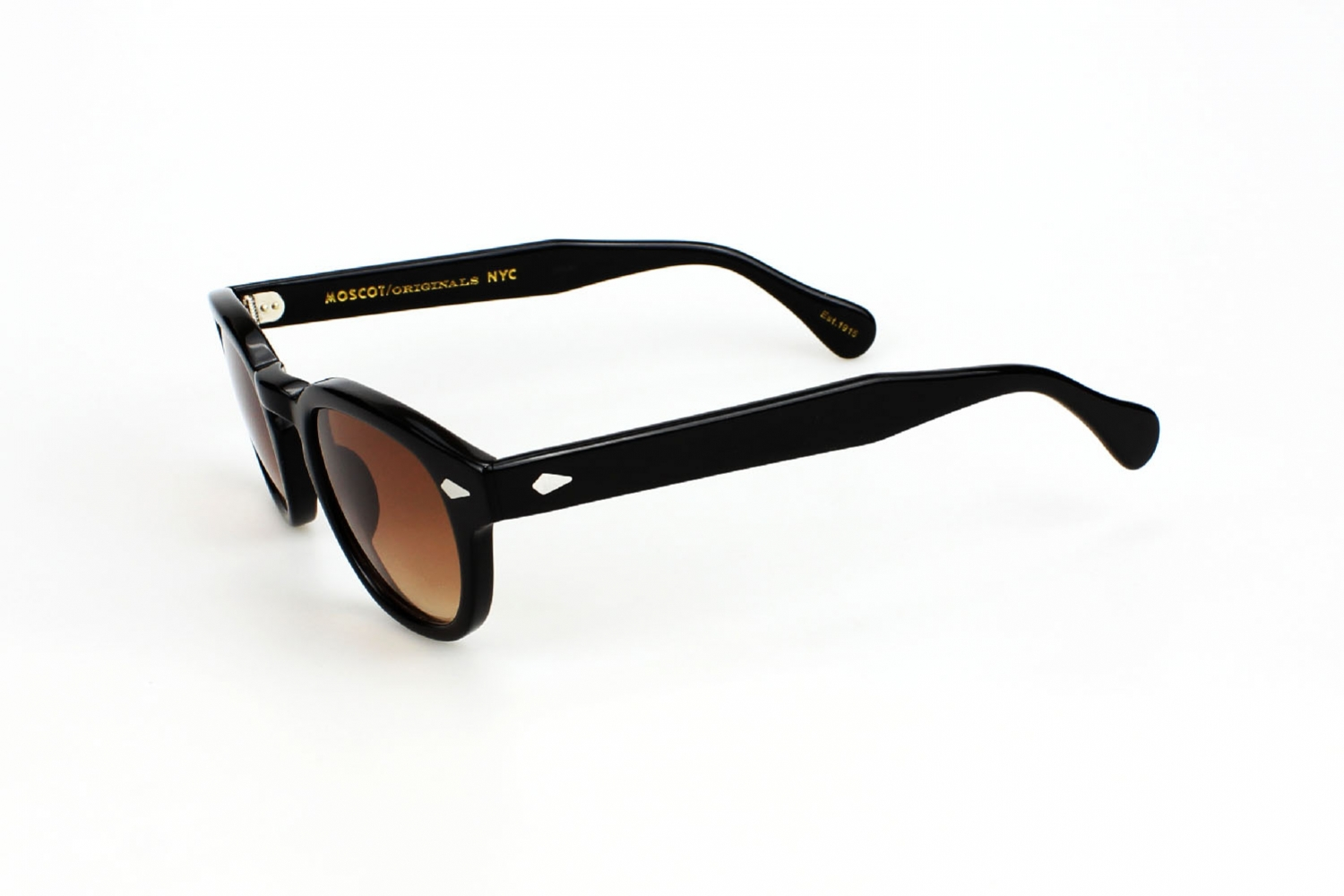 Moscot Lemtosh 44 Black Custom Tints