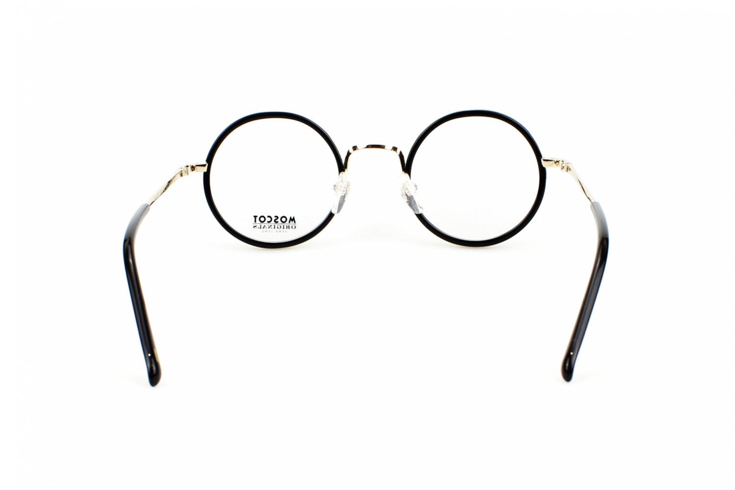 Moscot Shikker 45 Black Gold