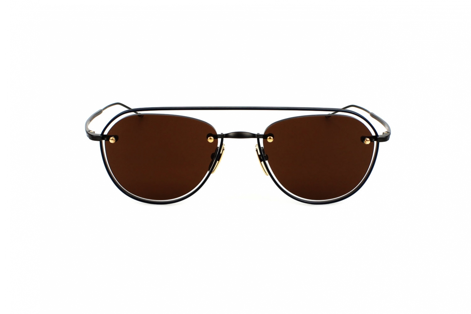 Thom Browne TBS112 52 03 BLK NVY